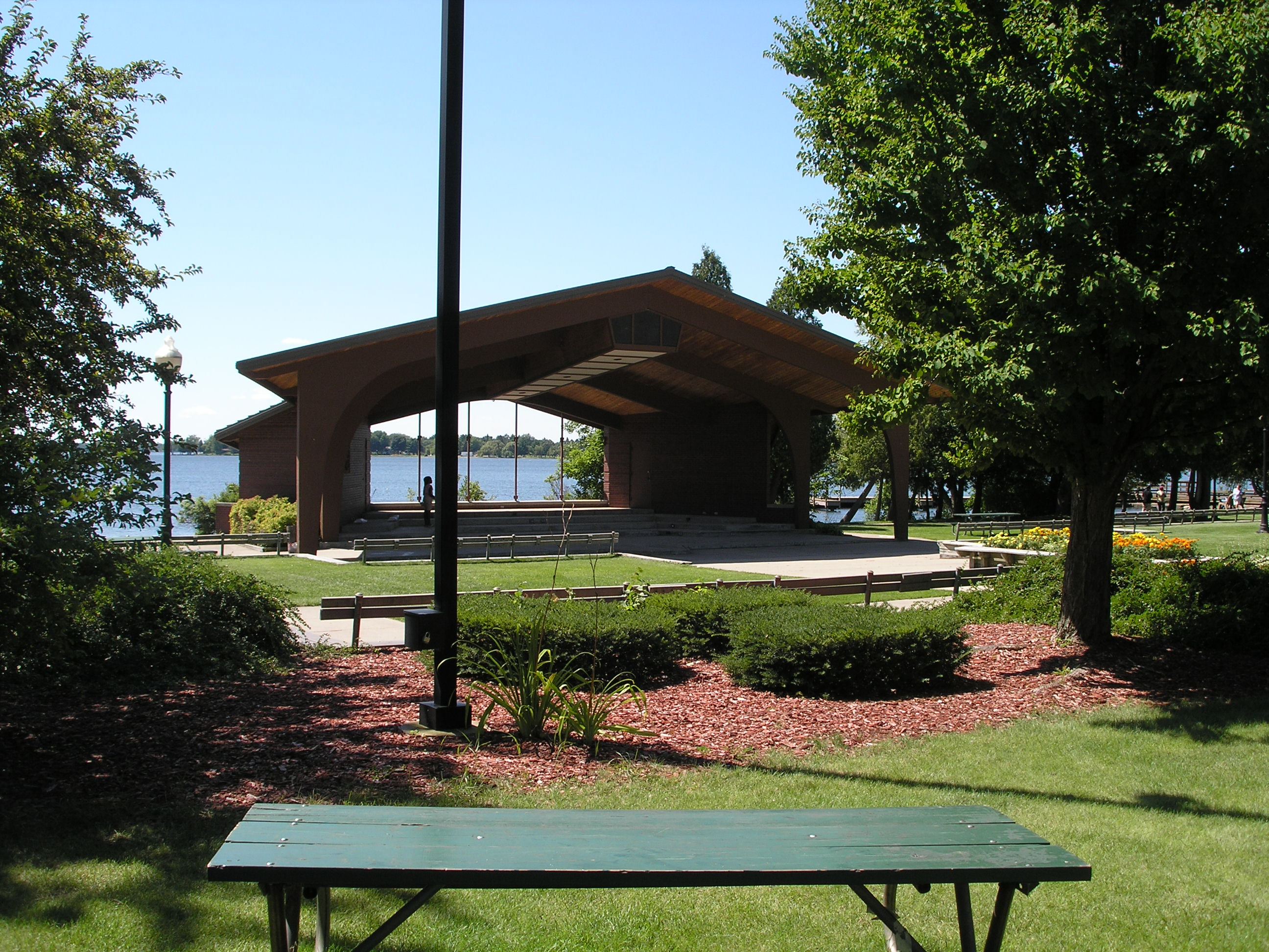 Picnic Tables and Shelter